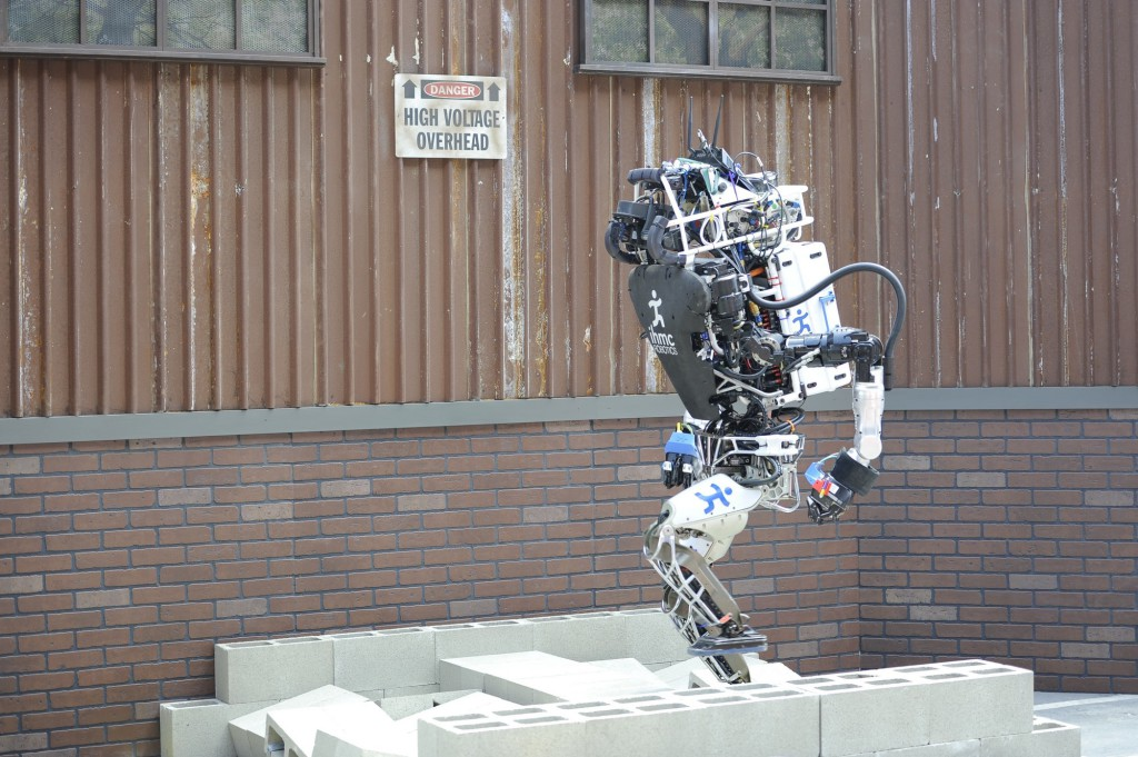 Robot DARPA Challenge