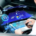 Futuro digital den transporte y lautomoción