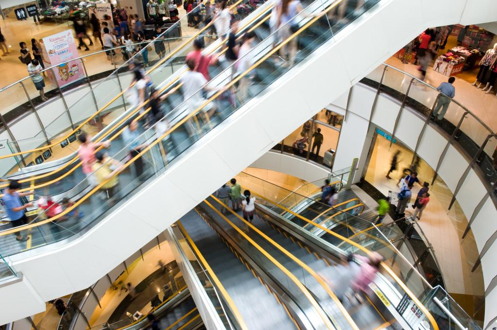 Uso de RF Fingerprinting en centros comerciales