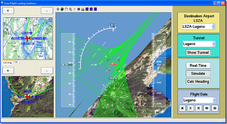 Navegador 3D para pilotos