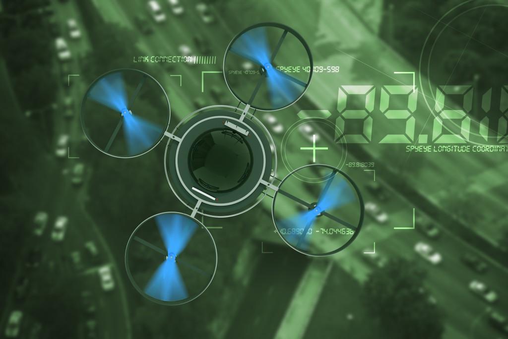 Leyes relativas al uso de drones y privacidad