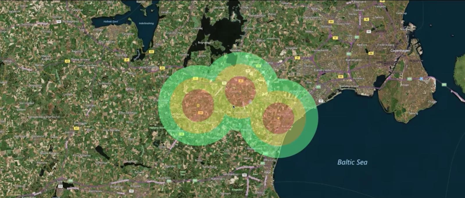 Control de aves en aeropuertos vía satélite