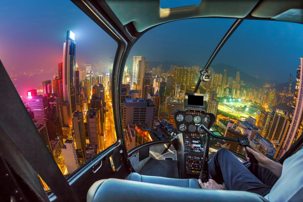 simuladores de helicóptero