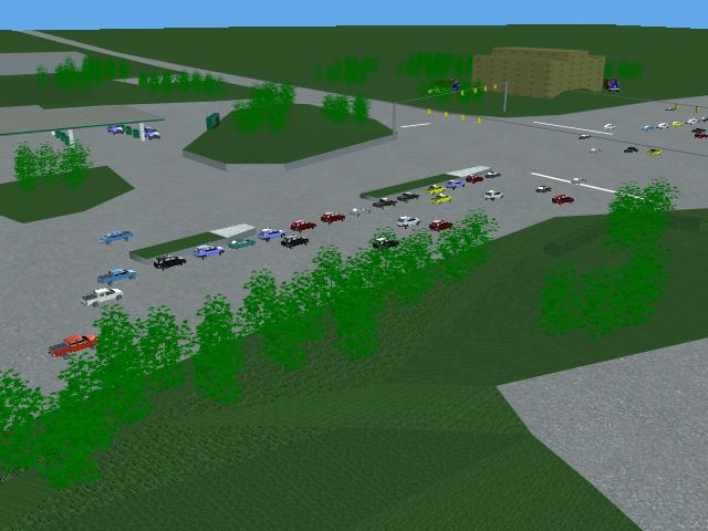 Simulación de tráfico según TRENDLab