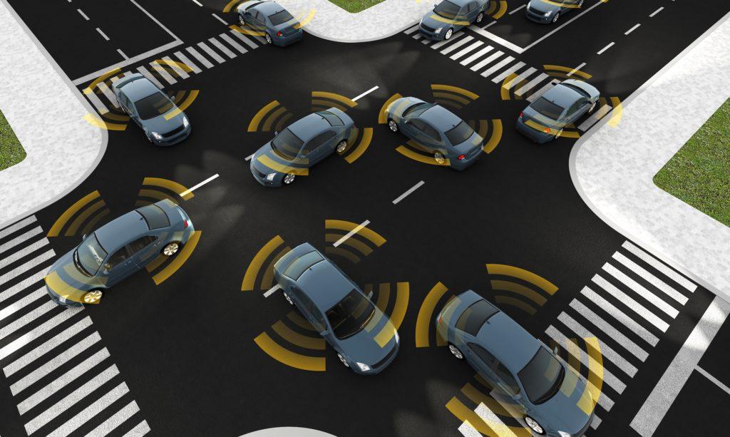 Ordenación del tráfico con vehículos autónomos