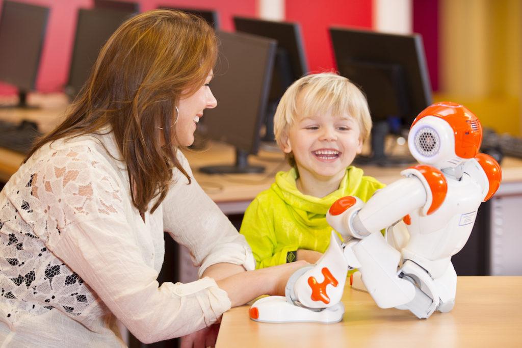 Robots y aprendizaje infantil