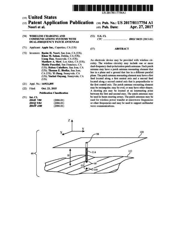 Patente cargador de batería por wifi