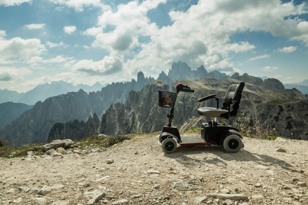 Silla de ruedas autónoma