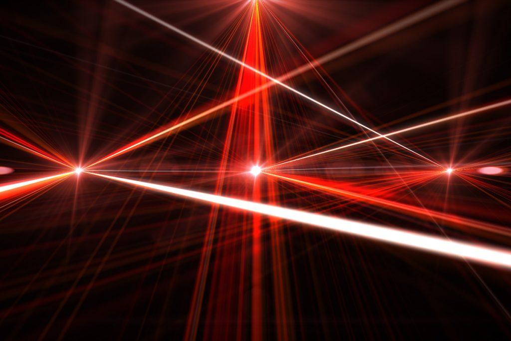 Cargador de móviles por láser