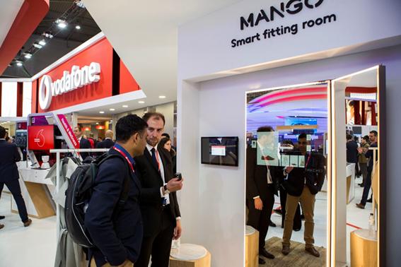 Espejos inteligentes Mango Vodafone