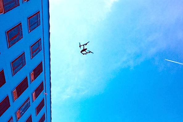 Drones industriales para la construcción