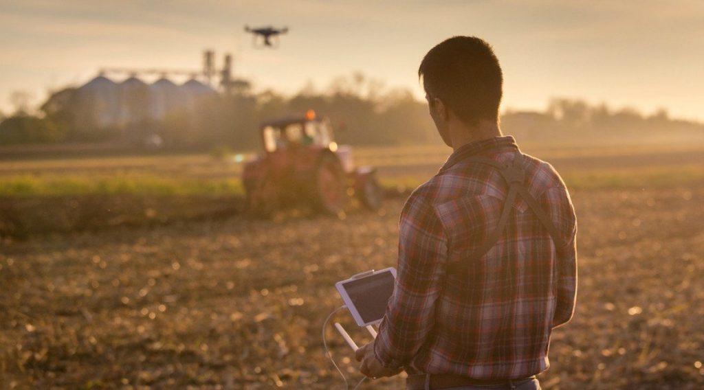 Drones para análisis de daños en cultivos skymatics