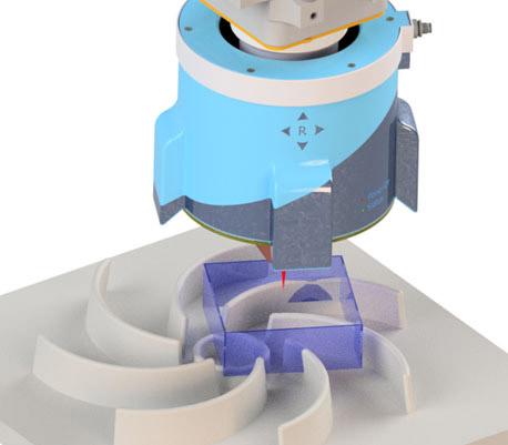 Ojo de visión completa para robot