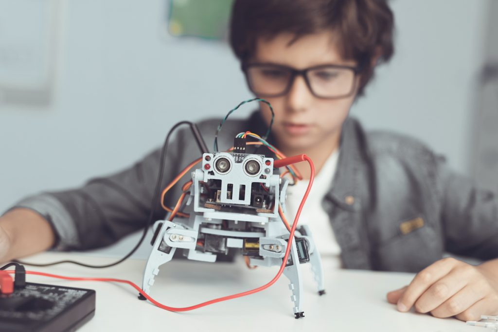 Robots y educación de los niños