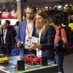 Demo de la aplicación para parkings inteligentes basada en NB-IoT presentada en el IoT Solutions World Congress 2018.