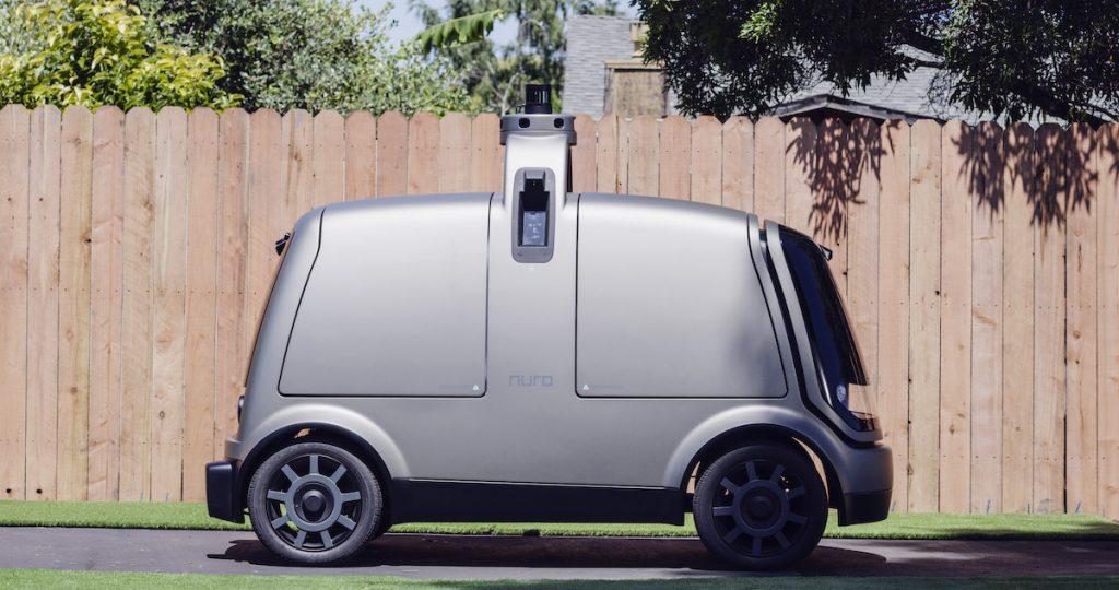Vehículo autónomo de reparto Nuro