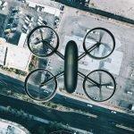 ciudades construidas por drones y robots