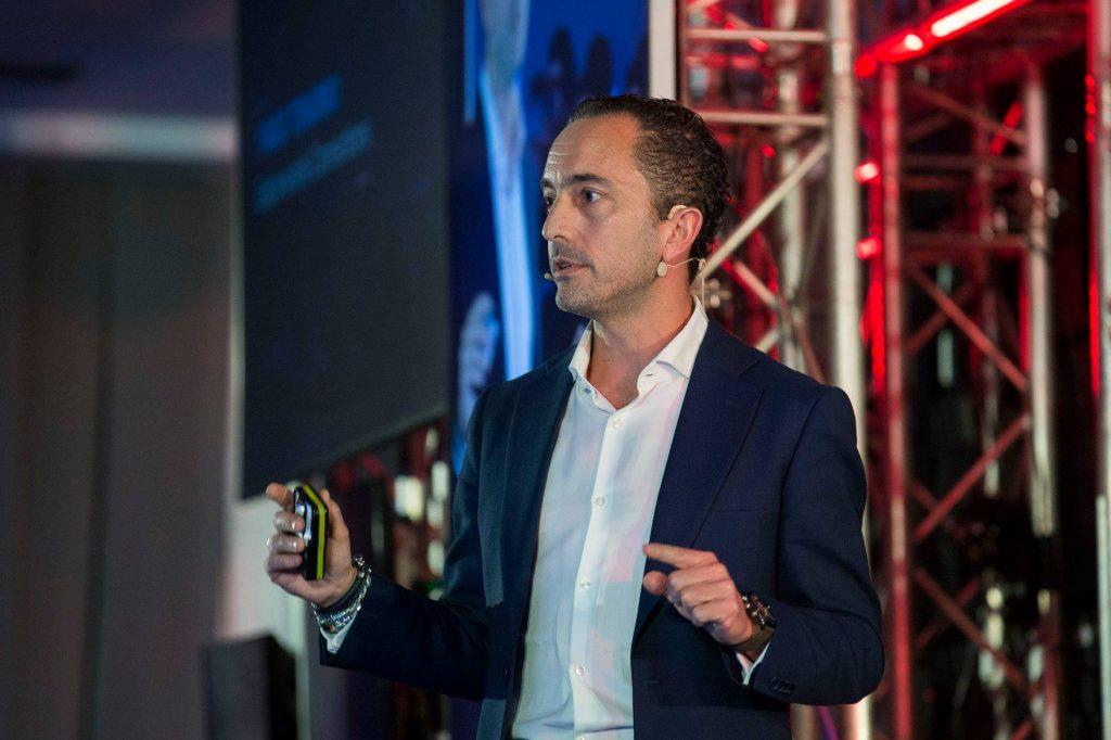 Yago Tenorio durante el SingularityU Spain Summit