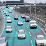 colaboración entre coches autónomos y tráfico