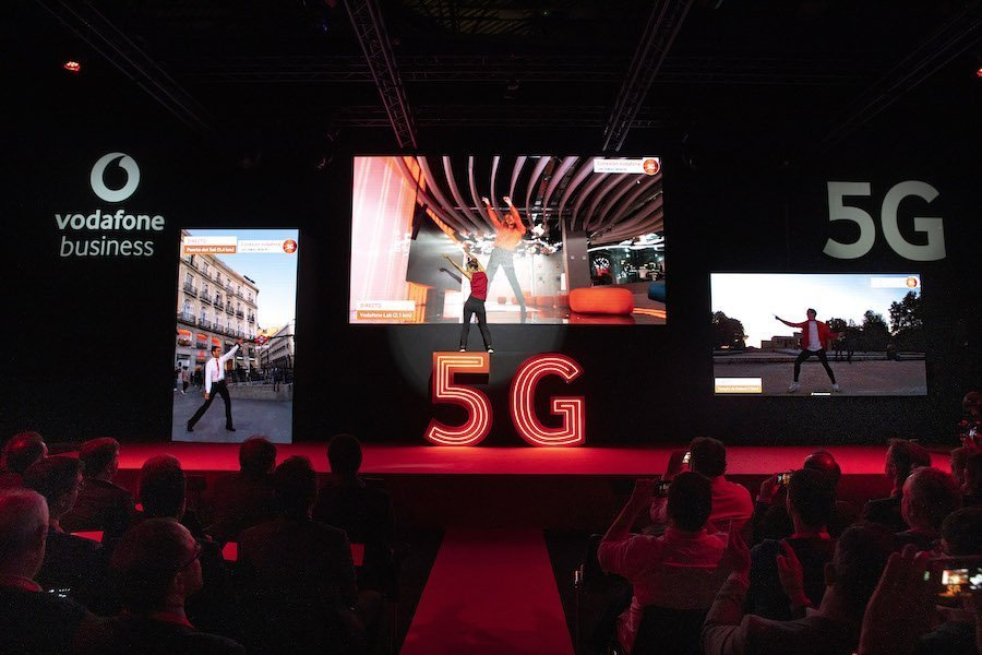 Demostración 5G Vodafone