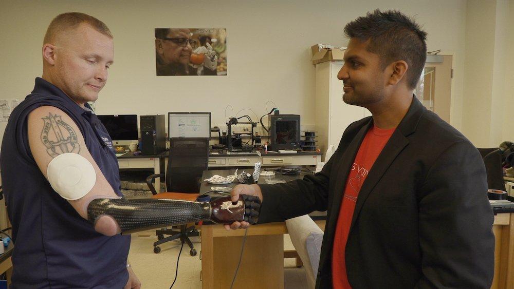 La 'Realidad Virtual Epidérmica' da a la tecnología un toque humano