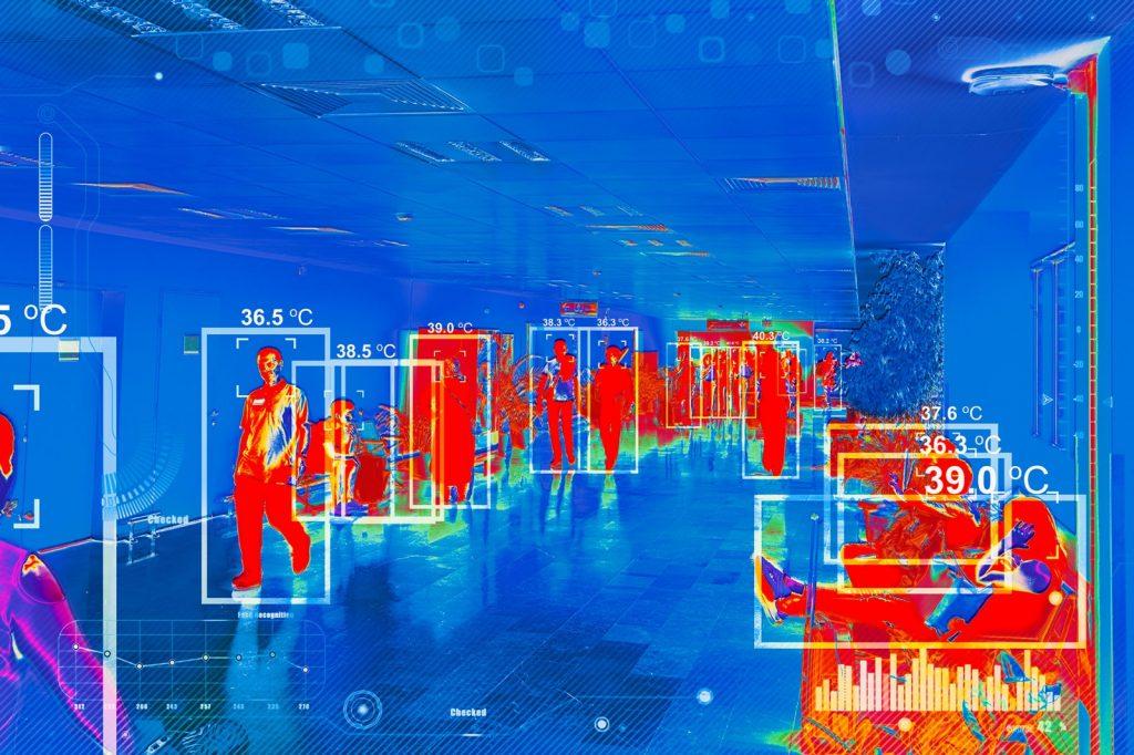 cámaras termométricas y dudas protección de datos