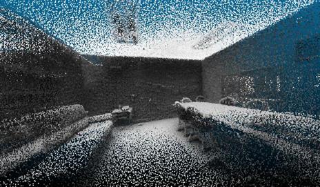 mapeado de interiores con láser Lidar