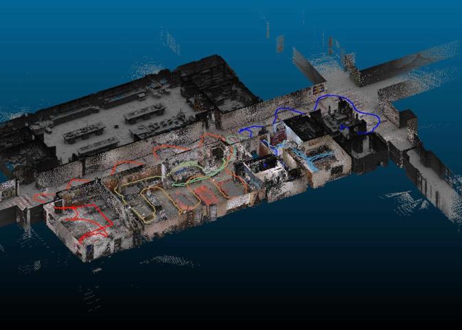 Mapping Indoor creado con Lidar