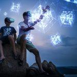 Hologramas hápticos que se pueden tocar para realidad virtual